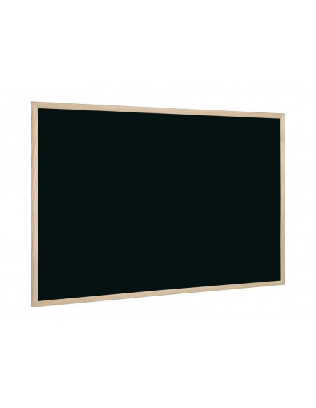 Tabla Neagra Cu Rama Din Lemn 80 X 60 Cm