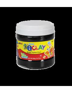Plastilina Amos iClay 400 g, negru