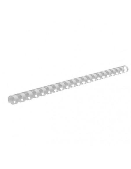 Inele Plastic Indosariere 25 mm Fellowes Alb - 50 buc / cutie