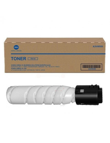 Cartus Toner Original Konica Minolta TN-118 A3VW050 Black