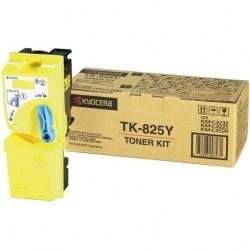 Cartus Toner Original Kyocera TK-825Y Yellow, 7000 pagini