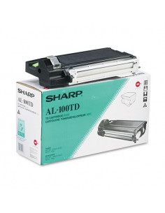 Cartus Toner Original Sharp AL100TD Black, 6000 pagini