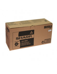 Cartus Toner Original Sharp AR208T Black, 8000 pagini