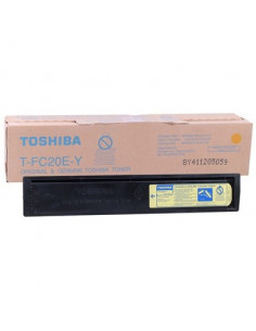 Cartus Toner Original Toshiba T-FC20EY Yellow, 16800 pagini