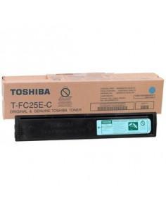 Cartus Toner Original Toshiba T-FC25EC Cyan, 26000 pagini