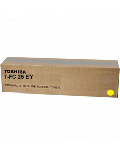 Cartus Toner Original Toshiba T-FC25EY Yellow, 26000 pagini