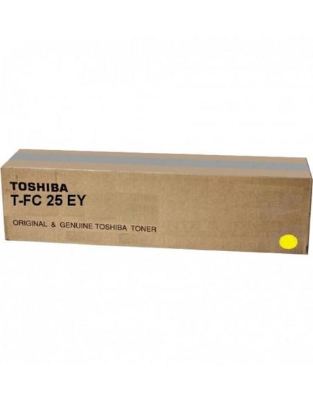 Cartus Toner Original Toshiba T-FC25EY Yellow, 26000 pagini