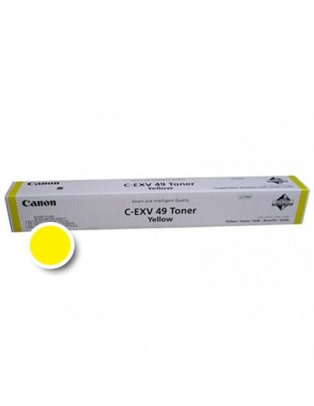 Cartus Toner Original Canon C-EXV49 Yellow, 19000 pagini