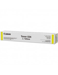 Cartus Toner Original Canon 034 Yellow, 7300 pagini