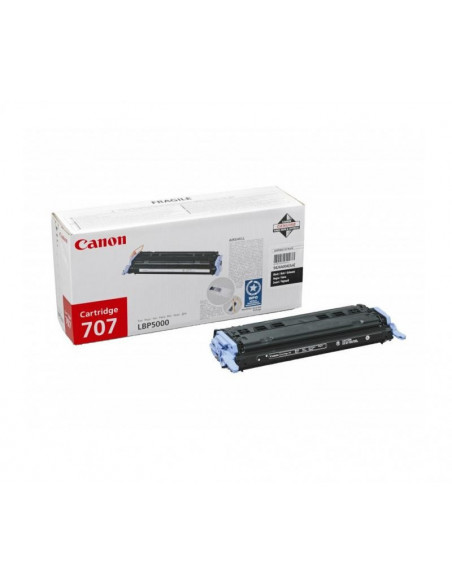 Cartus Toner Original Canon CRG-707 Black, 2500 pagini