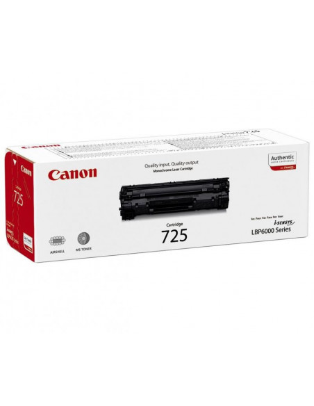 Cartus Toner Original Canon CRG-725 Black, 1600 pagini