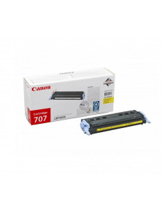 Cartus Toner Original Canon CRG-707 Yellow, 2000 pagini