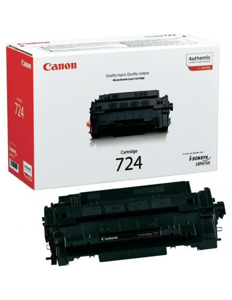 Cartus Toner Original Canon CRG-724 Black, 6000 pagini
