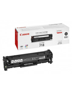 Cartus Toner Original Canon CRG-718 TWIN Black, 2x3400 pagini