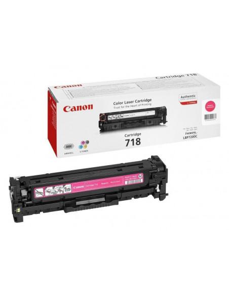 Cartus Toner Original Canon CRG-718 Magenta, 2900 pagini