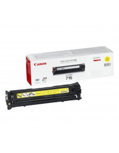 Cartus Toner Original Canon CRG-718 Yellow, 2900 pagini