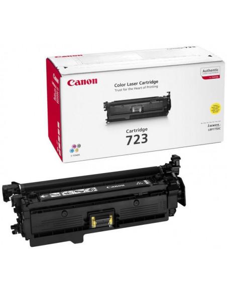 Cartus Toner Original Canon CRG-723 Yellow, 8500 pagini