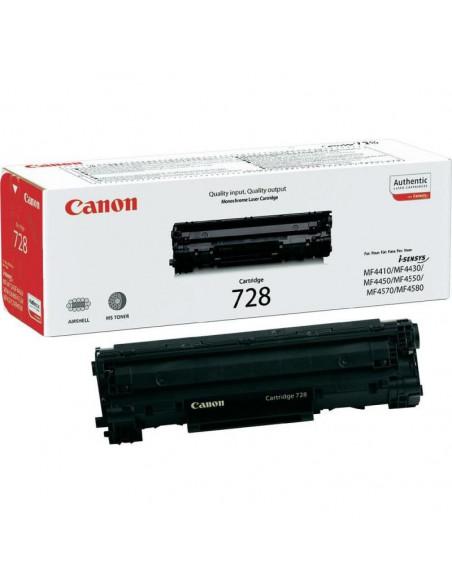 Cartus Toner Original Canon CRG-728 Black, 2100 pagini