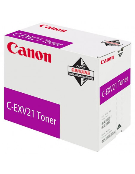 Cartus Toner Original Canon C-EXV21 Magenta, 14000 pagini