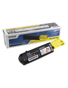 Cartus Toner Original Epson C13S050191 Yellow, 1500 pagini