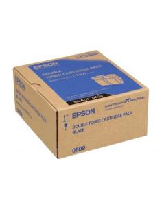 Cartus Toner Original Epson C13S050609 Negru, 2x6500 pagini