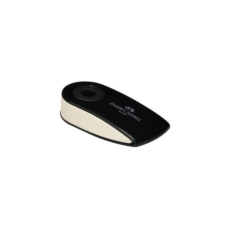 Radiera Creion Faber-Castell Sleeve Mini, Negru
