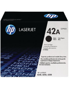 Cartus Toner Original Hp Q5942A Black, 10000 pagini