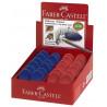Radiera Creion Faber-Castell Cosmo Mini, Rosu/Albastru