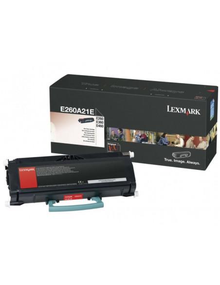 Cartus Toner Original Lexmark E260A21E, Black, 3500 pagini