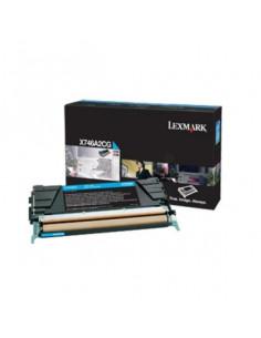 Cartus Toner Original Lexmark X746A3CG, Cyan, 7000 pagini