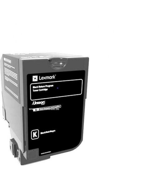 Cartus Toner Original Lexmark 75B20K0, Black, 13000 pagini