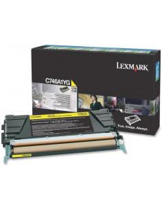 Cartus Toner Original Lexmark C746A3YG, Yellow, 7000 pagini