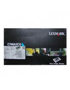 Cartus Toner Original Lexmark C746A3CG, Cyan, 7000 pagini