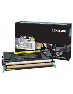 Cartus Toner Original Lexmark X748H1YG, Yellow, 10000 pagini