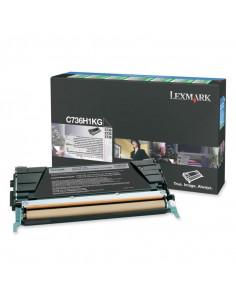 Cartus Toner Original Lexmark C736H1KG, Black, 12000 pagini