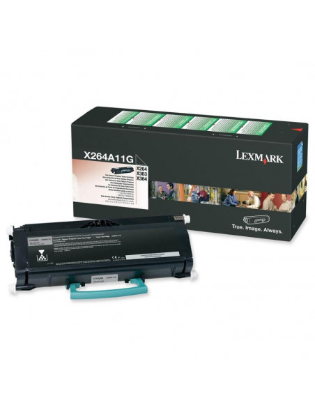 Cartus Toner Original Lexmark X463A11G, Black, 3500 pagini