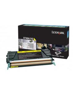 Cartus Toner Original Lexmark X746A1YG, Yellow, 7000 pagini