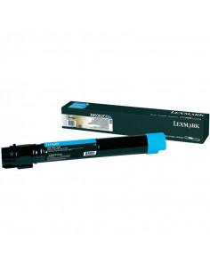 Cartus Toner Original Lexmark X950X2CG, Cyan, 22000 pagini