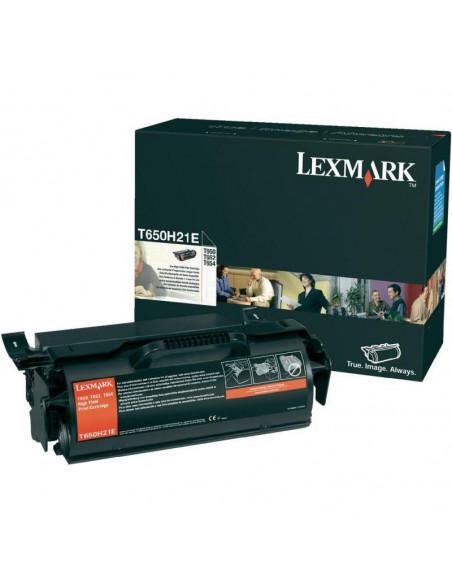 Cartus Toner Original Lexmark T650H31E, Black, 25000 pagini