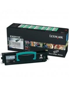 Cartus Toner Original Lexmark E352H11E, Black, 9000 pagini