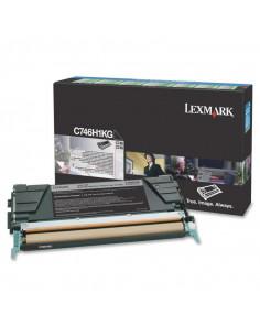 Cartus Toner Original Lexmark C746H1KG, Black, 12000 pagini