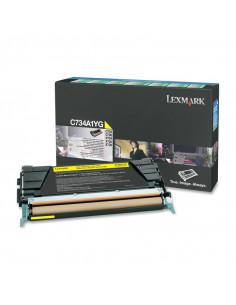Cartus Toner Original Lexmark C734A1YG, Yellow, 6000 pagini