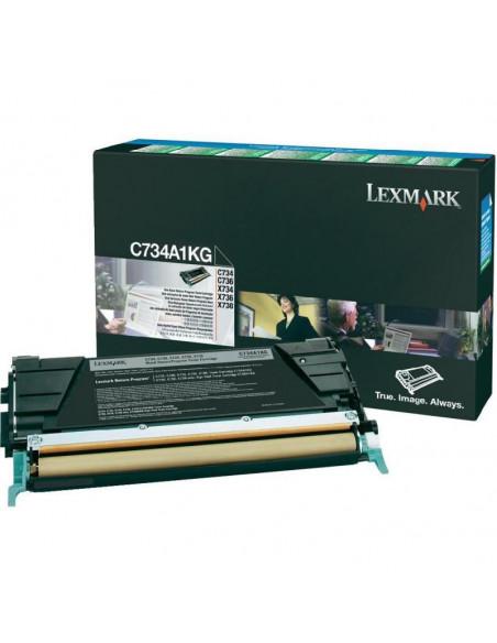 Cartus Toner Original Lexmark C734A1KG, Black, 8000 pagini