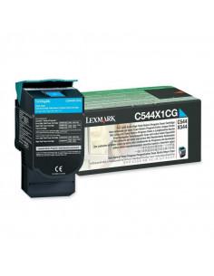 Cartus Toner Original Lexmark C544X1CG, Cyan, 4000 pagini