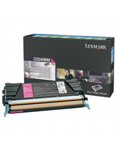 Cartus Toner Original Lexmark C5340MX, Magenta, 7000 pagini