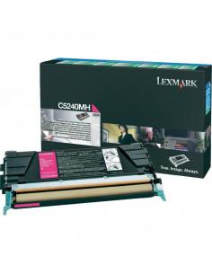 Cartus Toner Original Lexmark C5240MH, Magenta, 5000 pagini