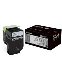 Cartus Toner Original Lexmark 80C0S10, Black, 2500 pagini