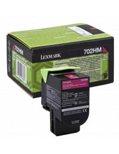Cartus Toner Original Lexmark 70C2HM0, Magenta, 3000 pagini