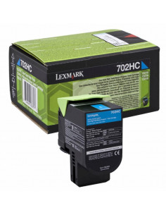 Cartus Toner Original Lexmark 70C2HC0, Cyan, 3000 pagini