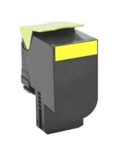 Cartus Toner Original Lexmark 70C0H40, Yellow, 3000 pagini